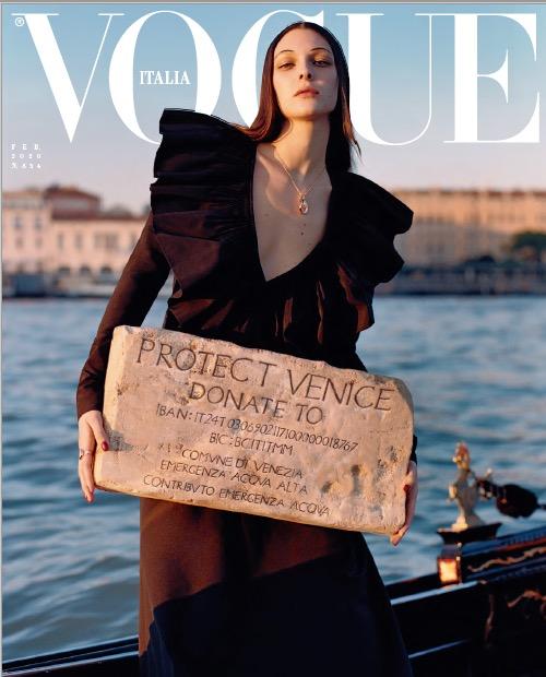 vogue italia febbraio 2020 vinicio mascarello italian beauty venezia