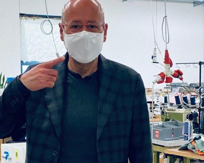 gianluca peripoli vi. il blog di vinicio mascarello video intervista coronavirus mascherine saby sport vicenza