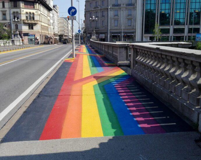 ponte garibaldi arcobaleno padova vi il blog di vinicio mascarello