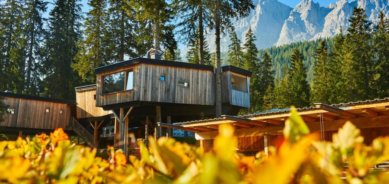 glamping caravan dolomiti hotel lusso campeggio vinicio mascarello