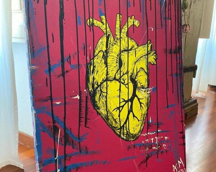 andrea magrini heart in he box heart in a box vinicio mascarello intervista arte cuori quadri paolo stella