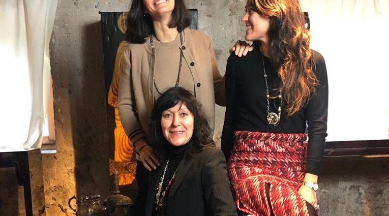 zael design galleria thais vicenza elisabetta zanin giovanna obrietan petra obrietan vinicio mascarello ladies intervista