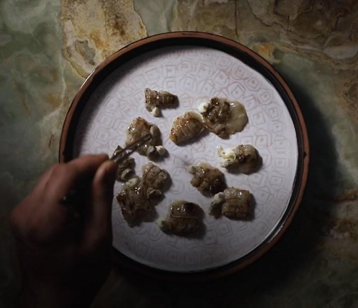 matteo grandi in basilica parlando di cibo erica zenati vinicio mascarello alberto tonello garibaldi vicenza food and beverage