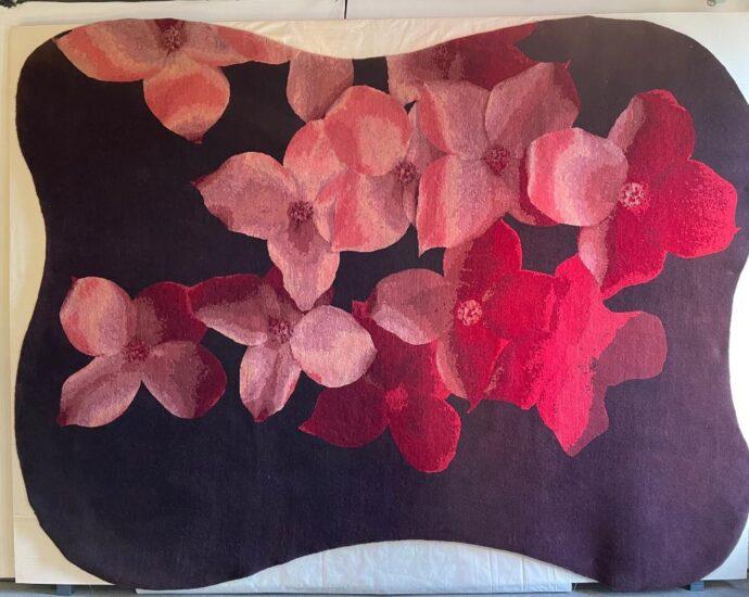 carlo dal bianco matteo pala flora collezione tappeti idea di amatori luisa vicenza vinicio mascarello design