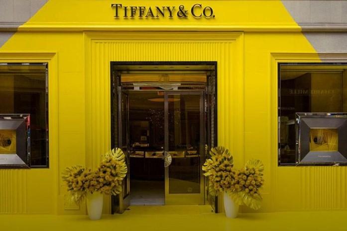 tiffanyyellow color tiffany turchese giallo tiffany vinicio mascarello evento roadeo drive boutique luxury lusso